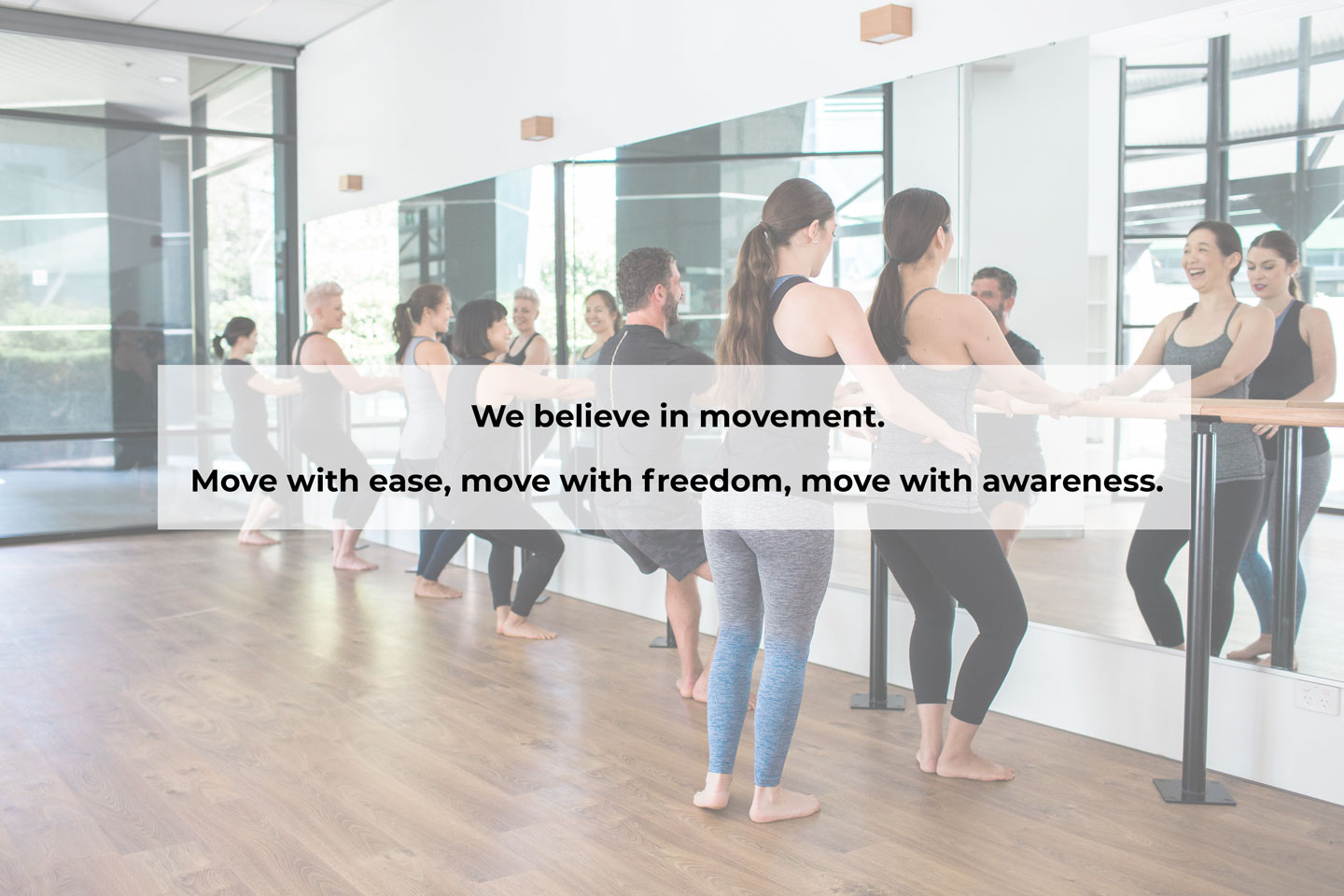Yoga Pilates Functional Training and Barre classes in Chatswood