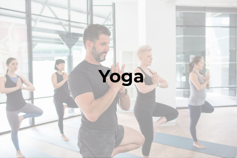 Yoga class in Chatswood at the Leap studio.