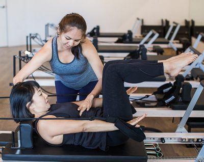 Reformer Pilates class in Chatswood