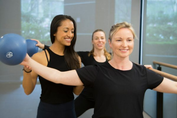Leap exercise studio Chatswood_training