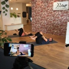 Leap Health and Wellbeing LIVE STREAM online virtual classes